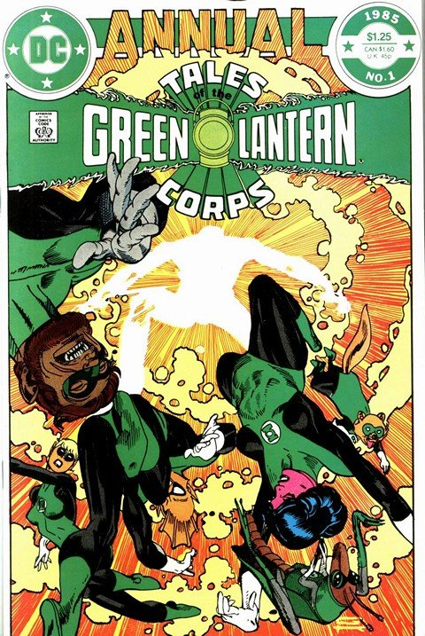 Tales Green Lantern Corps Annual #1 – 3