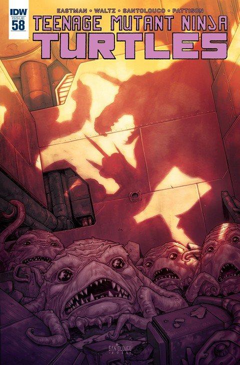 Teenage Mutant Ninja Turtles #58