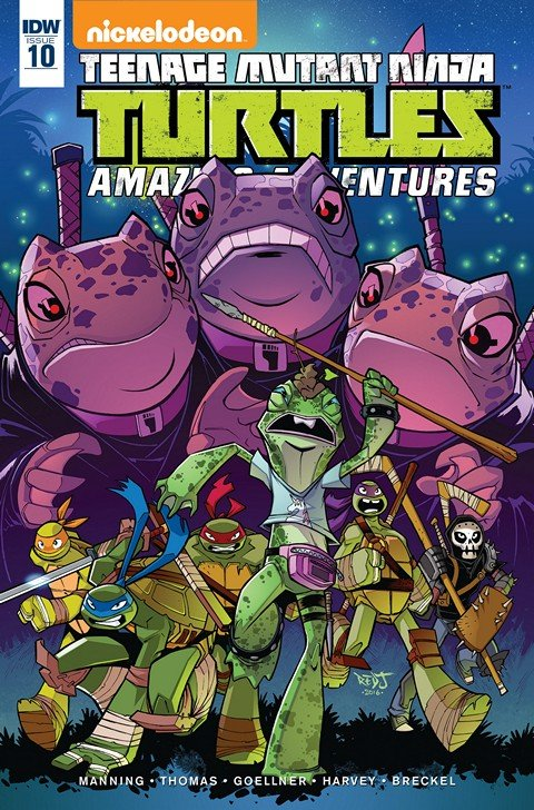 Teenage Mutant Ninja Turtles – Amazing Adventures #10