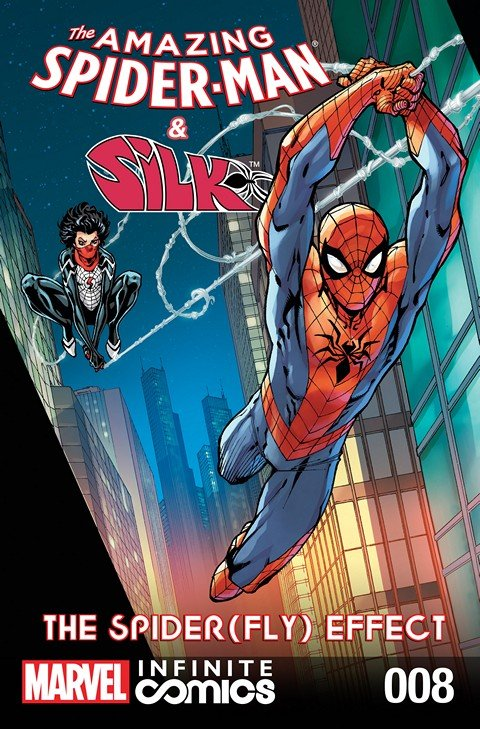 The Amazing Spider-Man & Silk – Spider(Fly) Effect Infinite Comic #8
