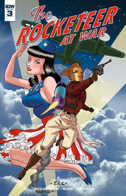 The Rocketeer At War #1 – 3