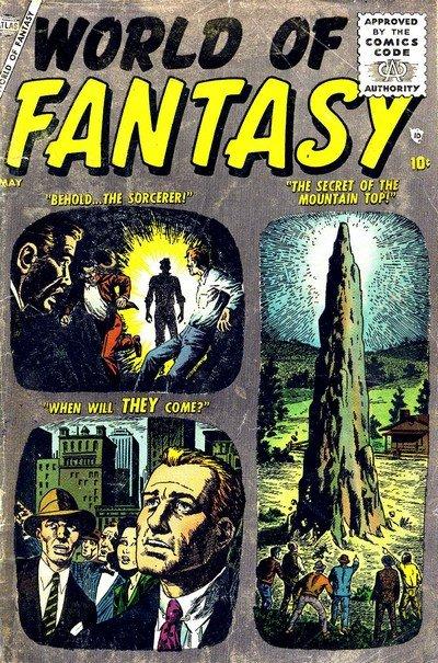 World of Fantasy #1 – 19 (1956-1959)