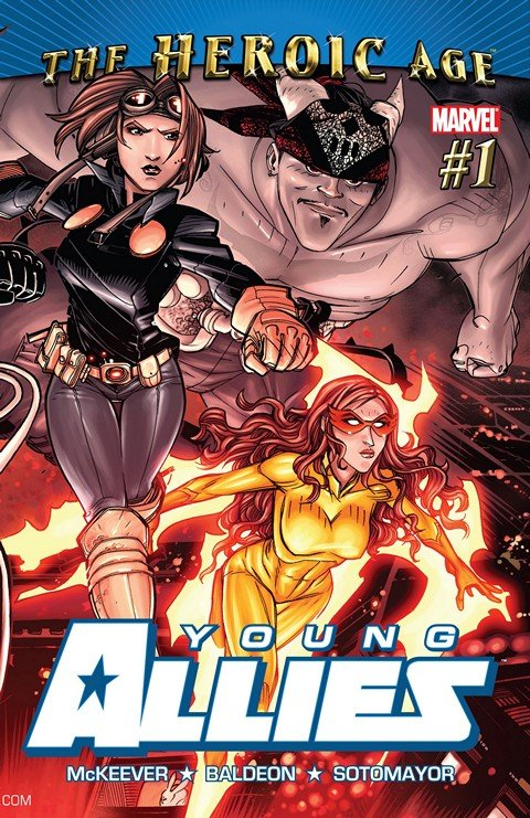 Young Allies Vol. 2 #1 – 6