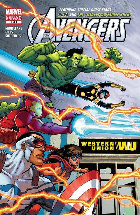 Avengers Featuring Hulk & Nova #1