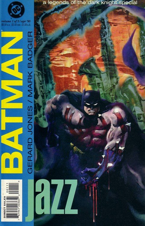 Batman – Legends of the Dark Knight – Jazz #1 – 3