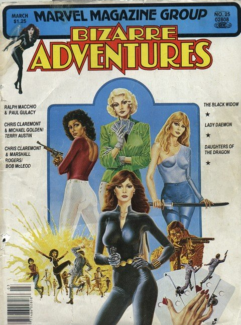 Bizarre Adventures #25 – 34