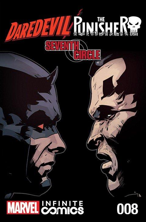 Daredevil – Punisher – Seventh Circle Infinite Comic #1 – 8