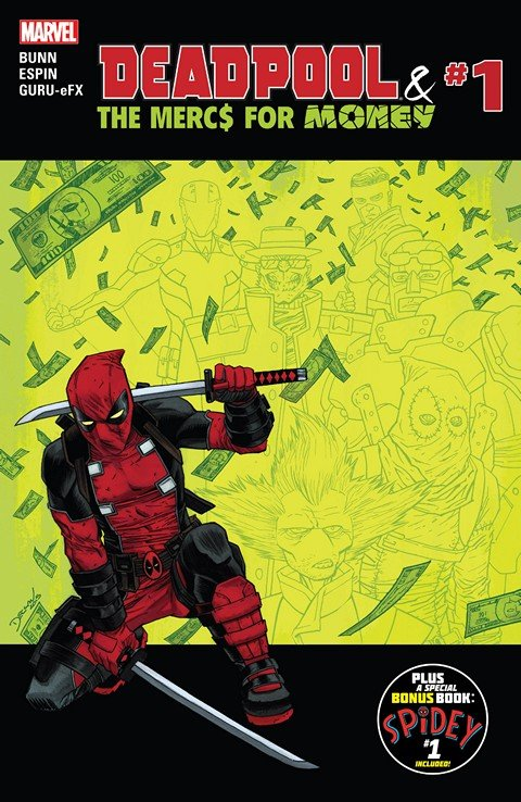 Deadpool & The Mercs For Money #1 – 5