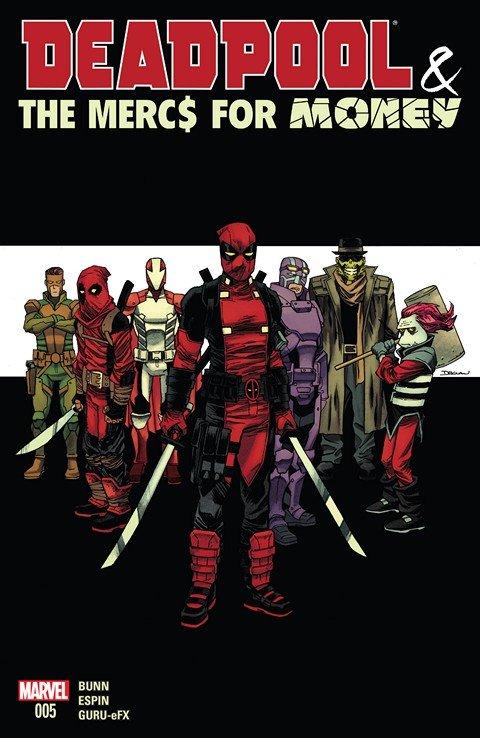Deadpool & The Mercs For Money #5