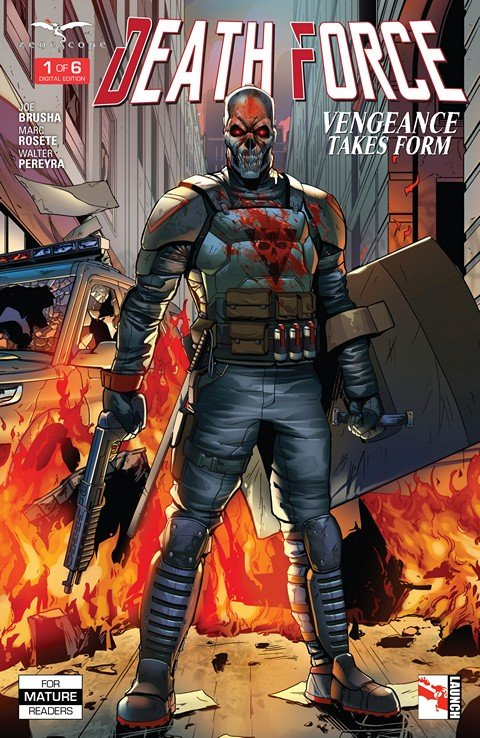 Death Force #1 – 6 (2016)