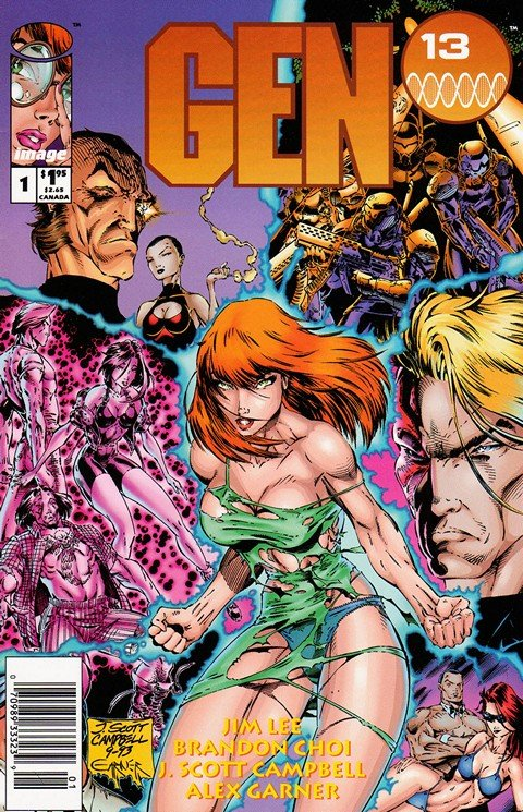 Gen13 (Vol. 1 – 4 + Extras) (Ultimate Collection)