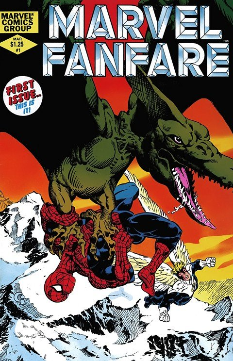 Marvel Fanfare Vol. 1 – 2