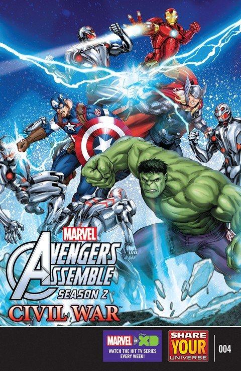 Marvel Universe Avengers Assemble – Civil War #4