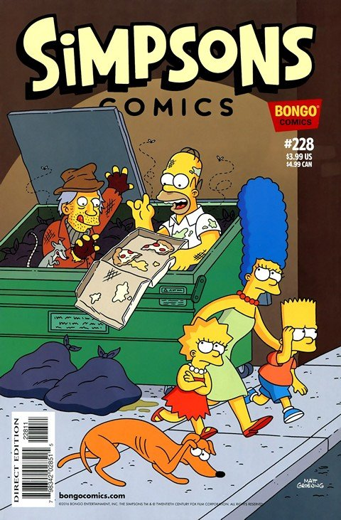 Simpsons Comics #228