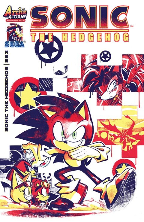 Sonic the Hedgehog #283-284