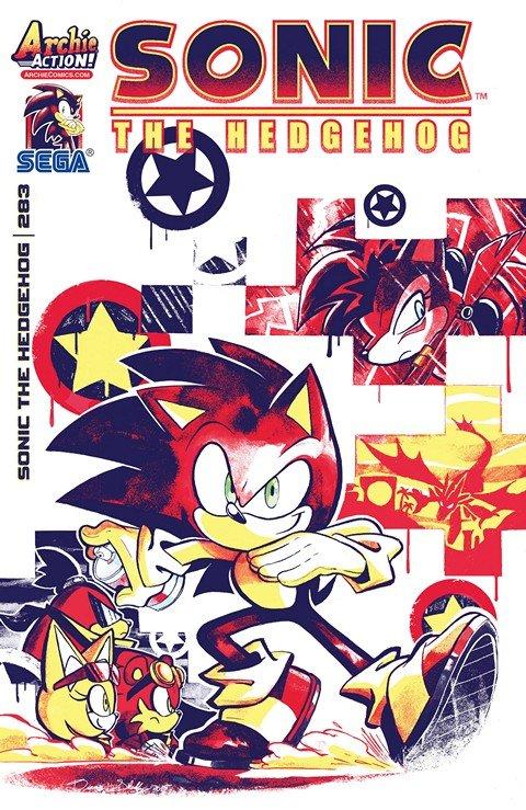 Sonic the Hedgehog #283-284