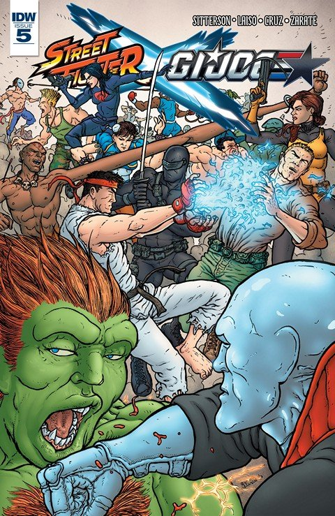 Street Fighter x G.I. Joe #5