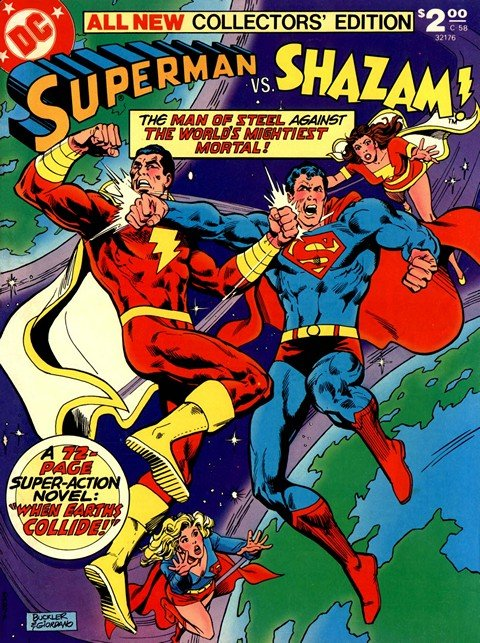 Superman vs. Shazam!