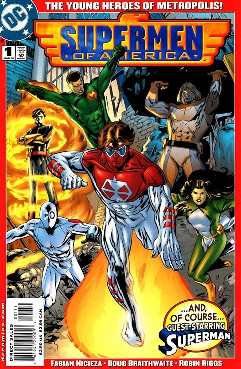 Supermen of America Vol. 2 #1 – 6