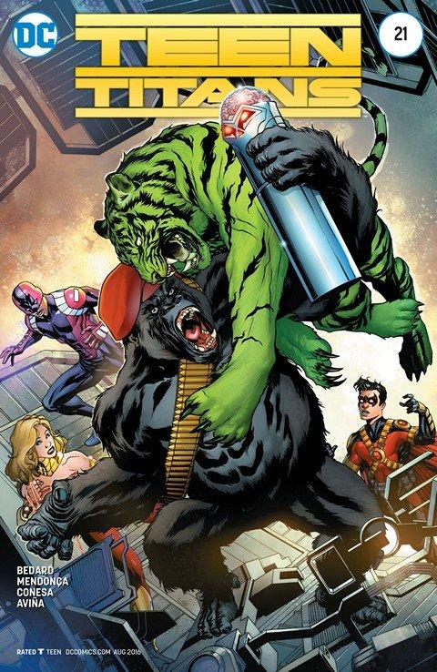 Teen Titans #21 (2016)