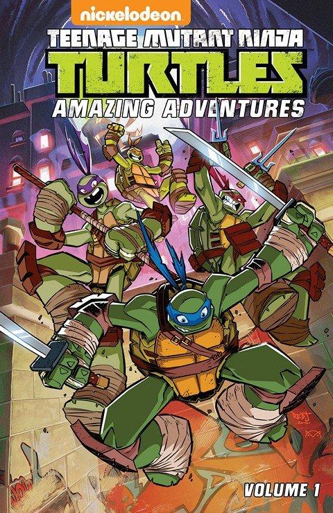 Teenage Mutant Ninja Turtles – Amazing Adventures Vol. 1