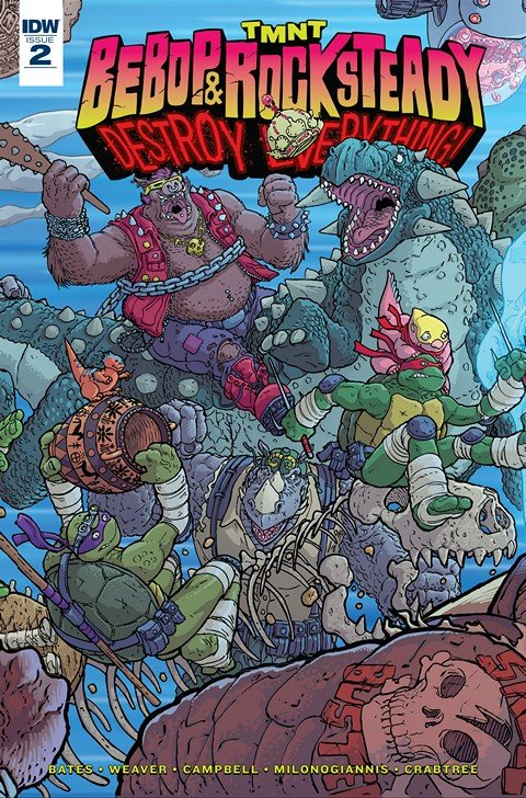 Teenage Mutant Ninja Turtles – Bebop & Rocksteady Destroy Everything #2