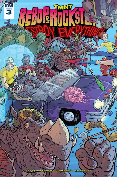 Teenage Mutant Ninja Turtles – Bebop & Rocksteady Destroy Everything #3