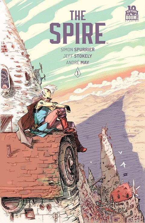 The Spire #1 – 8 + TPB (2015-2016)