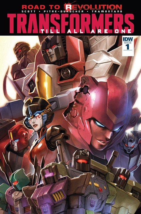 Transformers Till All Are One #1