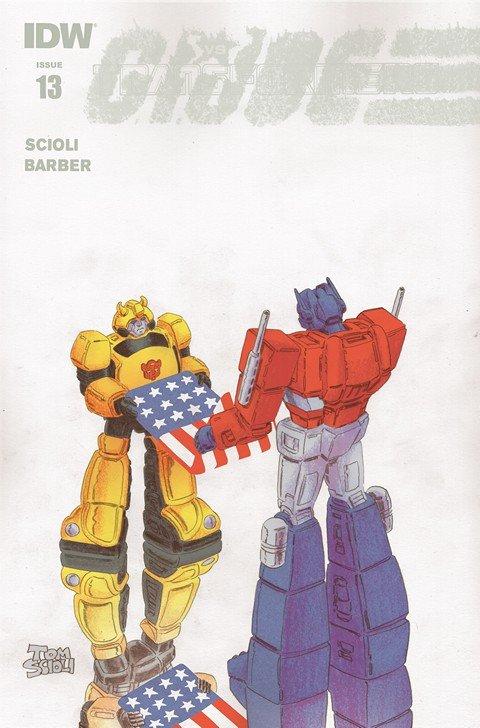 Transformers Vs G.I. Joe #0 – 13