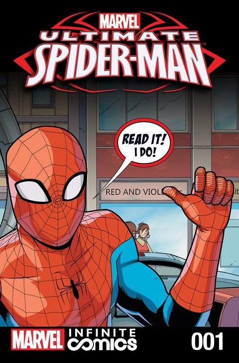 Ultimate Spider-Man Infinite Comic #1 (2016)