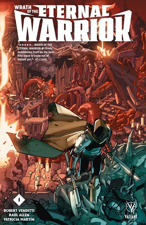 Wrath of the Eternal Warrior #1 – 8