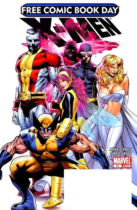 X-Men (FCBD) (2008)