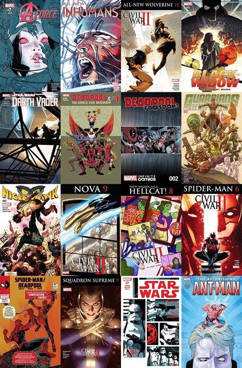2016.07.20 Marvel Week+