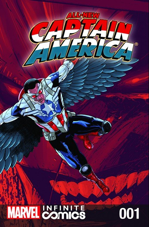 All-New Captain America – Fear Him Infinite Comic #1 – 6