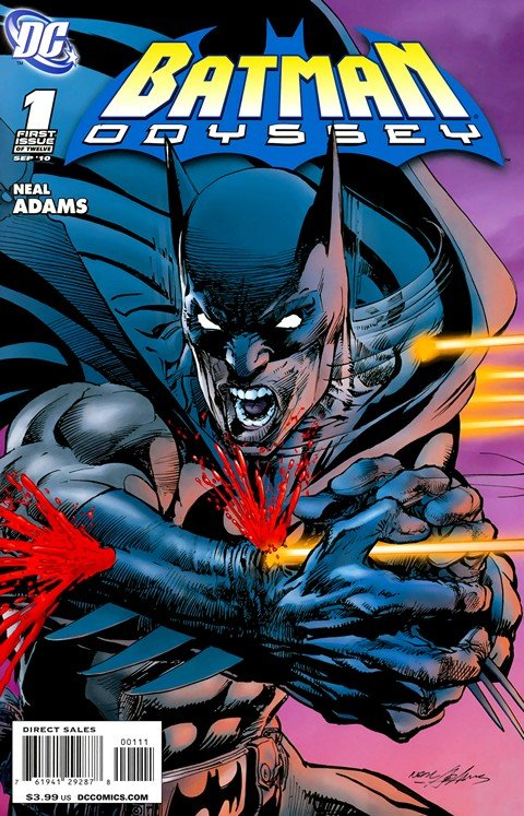 Batman Odyssey Vol. 1 #1 – 6 (2010)