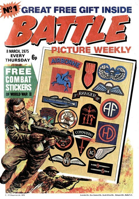Battle Picture Weekly #1 – 141