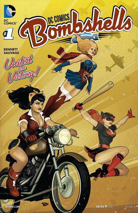 Bombshells #1 – 100 + Printed Version #1 (2015-2017)