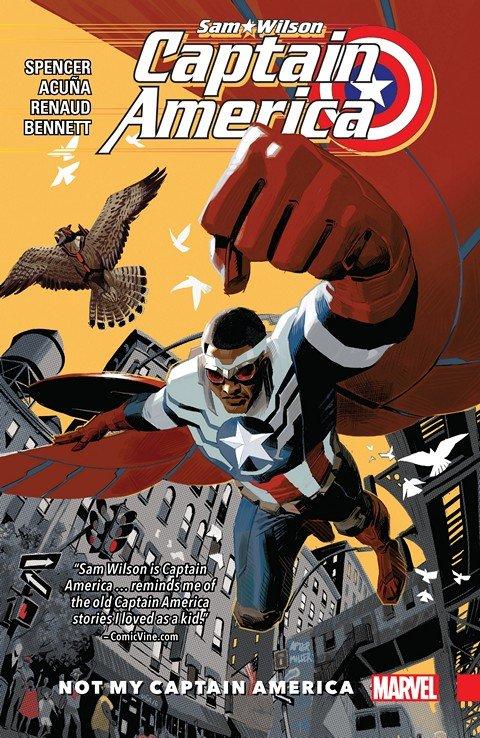 Captain America – Sam Wilson Vol. 1 – Not My Captain America