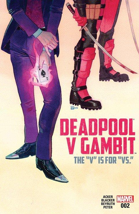 Deadpool v Gambit #2