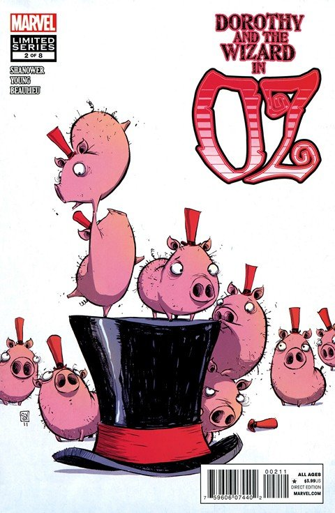 Dorothy & the Wizard in Oz #1 – 8 (2011-2012)