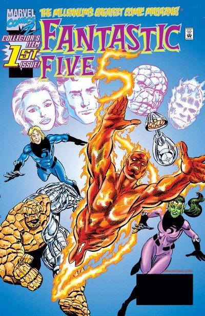 Fantastic Five Vol. 1 #1 – 5 (1999-2000)