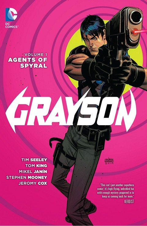 Grayson #1 – 20 + Annual + TPB + Future End