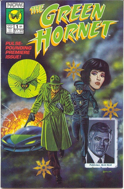 Green Hornet Vol. 2 #1 – 40 + Annuals