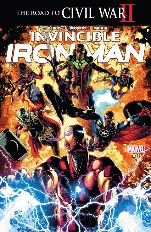 Invincible Iron Man #11