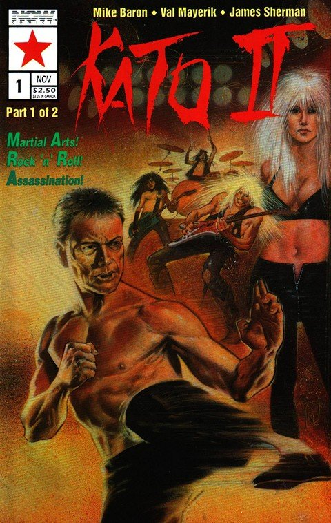 Kato II #1 – 2 (Now Comics)