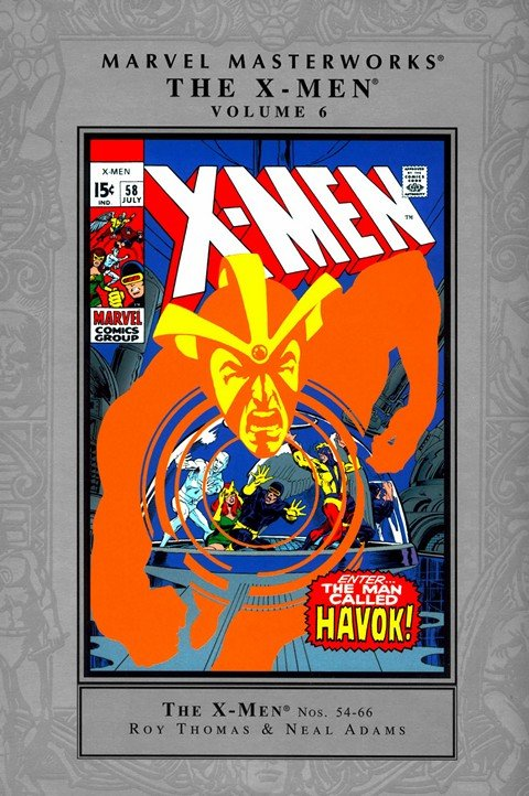 Marvel Masterworks Uncanny X-Men Vol. 3 – 6