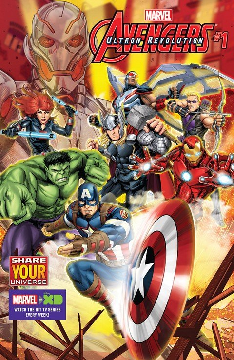 Marvel Universe Avengers – Ultron Revolution #1