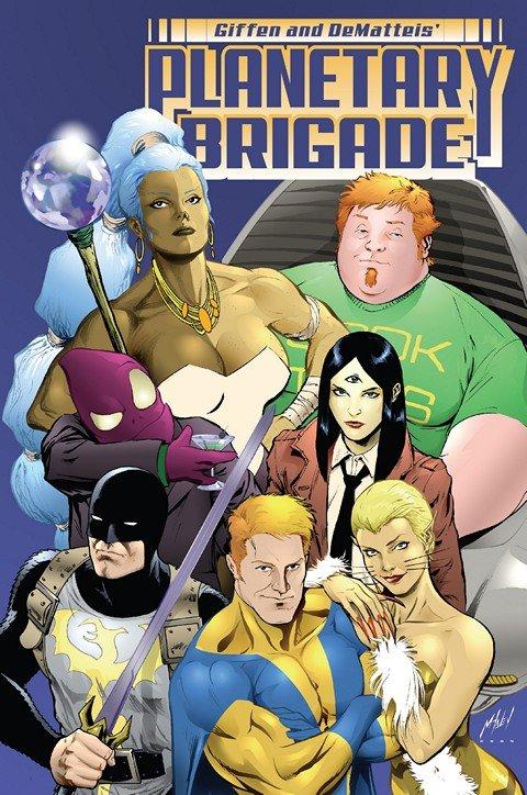 Planetary Brigade Vol. 1 TPB (2007)