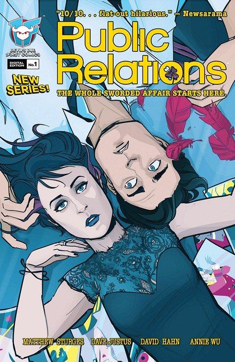 Public Relations #1 – 13 (2015-2016)